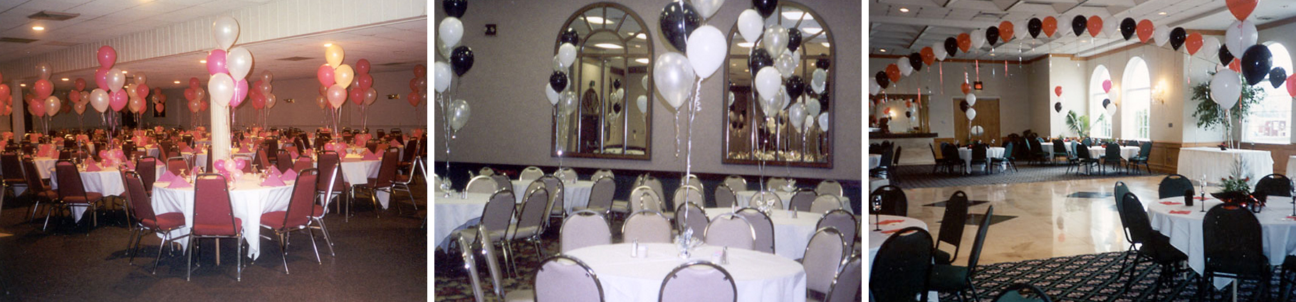 Rooms Decorated with Balloons