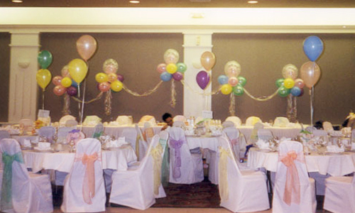 Pastel-Colored Balloons