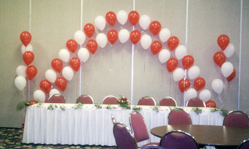 Red and White Decoration